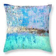 Wall Abstract 26 Throw Pillow