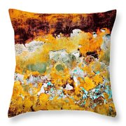 Wall Abstract 28 Throw Pillow
