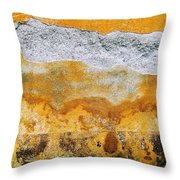 Wall Abstract 36 Throw Pillow