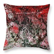 Wall Abstract 37 Throw Pillow