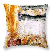Wall Abstract 62 Throw Pillow
