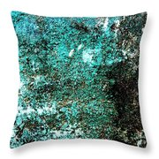 Wall Abstract 9 Throw Pillow