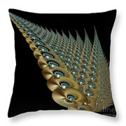 Wall Art Nouveau Throw Pillow
