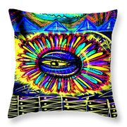 Wall Flower 30x30 Throw Pillow
