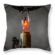 Wall Lantern Close-up Throw Pillow