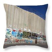 Wall Museum Throw Pillow