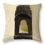 Wall Niche Shelf Udaipur City Palace India Throw Pillow