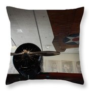 Wall Of Great Aviators Throw Pillow