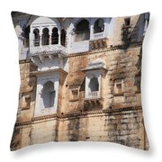 Wall Of Windows Throw Pillow