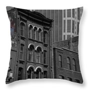 Wall Paintings Throw Pillow