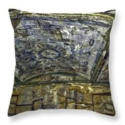 Ceiling And Wall Paintings Throw Pillow