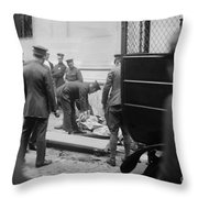 Wall Street Bombing, 1920 Throw Pillow
