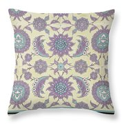Wall Tiles From The Palace Of Ismayl Bey From Arab Art As Seen Through The Monuments Of Cairo  Throw Pillow