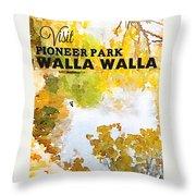 Walla Walla Throw Pillow
