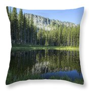 Wallowas No. 7 Throw Pillow