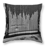 Walls Are Unloved Throw Pillow