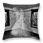 Walls That Push  Throw Pillow