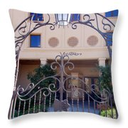 Walnut Grove Theater Throw Pillow