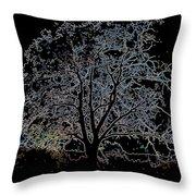 Walnut Tree Series Glowing Edges Throw Pillow