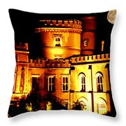 Walpole House At Night Throw Pillow