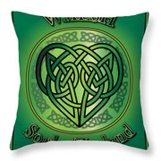Walsh Soul Of Ireland Throw Pillow