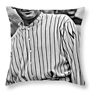 Walter Johnson Painting Throw Pillow