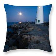 Walton Moon Burst Throw Pillow