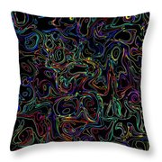 Waltz In A9 Minor Throw Pillow