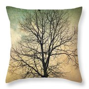 Waltz Of A Tree Throw Pillow