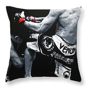 Wand V Cung Le Throw Pillow