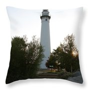 Wander To Wind Point Throw Pillow