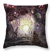 Wanderer Throw Pillow by Mark Cooper