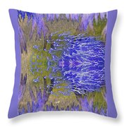 Wandering By Throw Pillow