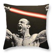 Wanderlei Lightsaber Throw Pillow