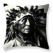 Wanduta Lakota Sioux Throw Pillow