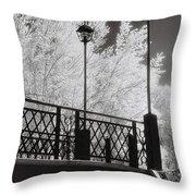 Wangaratta Footbridge Throw Pillow