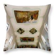 Wangen Organ And Ceiling Throw Pillow