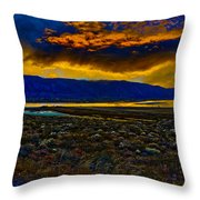 Waning Light Throw Pillow