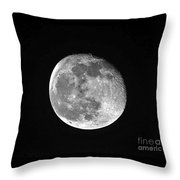 Waning Pink Moon Throw Pillow by Al Powell Photography USA