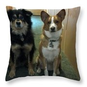 Want To Go Out Throw Pillow