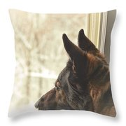 Wanting To Play Throw Pillow