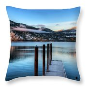 Wapato Point Throw Pillow by Spencer McDonald