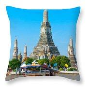 War Arun - Bangkok Throw Pillow