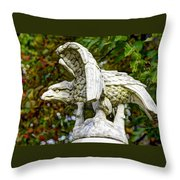 War Eagles - Vermont Company F 1st U. S. Sharpshooters Pitzer Woods Gettysburg Throw Pillow