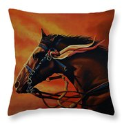 War Horse Joey  Throw Pillow by Paul Meijering