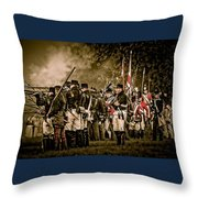 War Of 1812 Throw Pillow