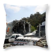 War Of The World's Throw Pillow