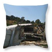 War Of The Worlds - Universal Studios Throw Pillow
