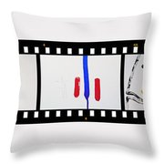 War Painting Throw Pillow