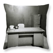 War Room In Saigon Throw Pillow